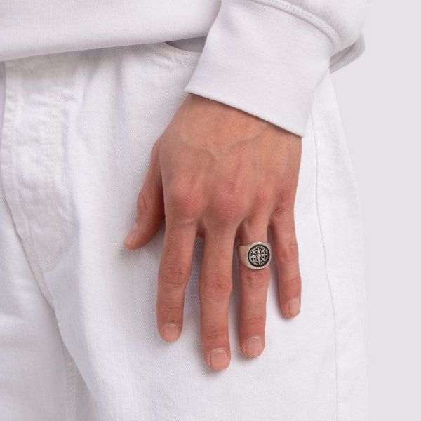 anello-compasso-argento