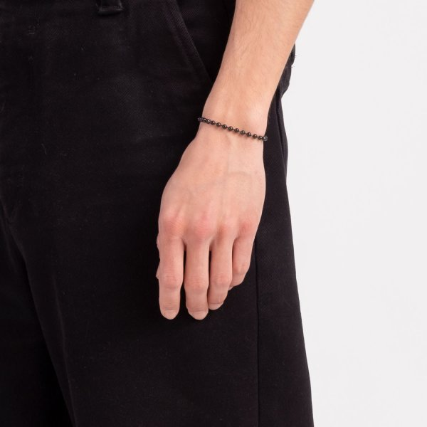 bracciale-argento-nero
