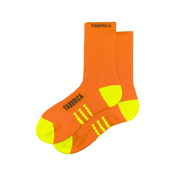 ORANGE QSKIN SOCKS